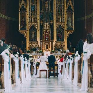 Hochzeit in der Kirche in Zirl