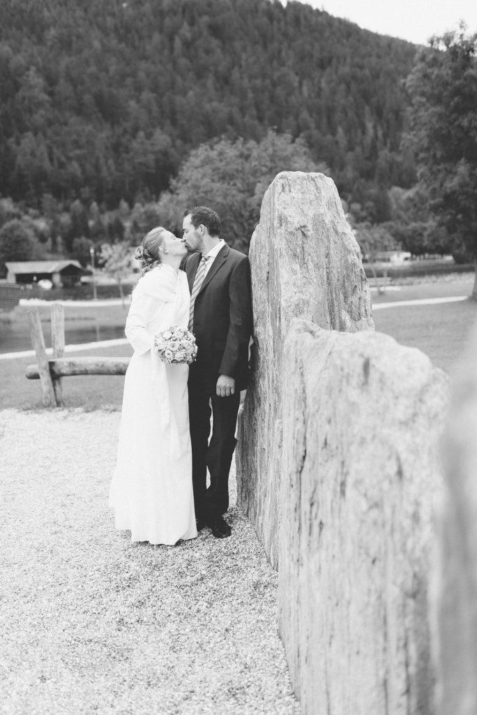 Brautpaar beim Shooting am Achensee im Tiroler Unterland